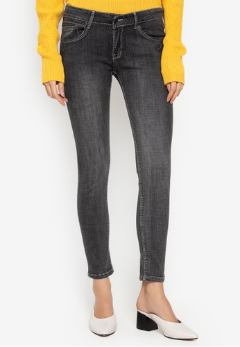 Balaynor grey Fashion Skinny Charcoal  Jeans 61AF6AAC5FAEF6GS_1