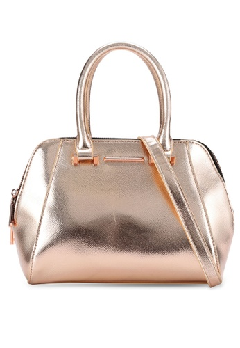 Nose gold Metallic Tote NO327AC0RC8IMY_1