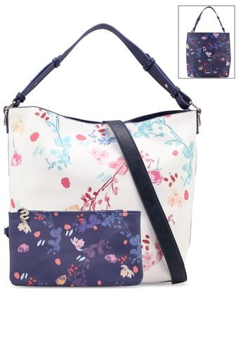 Desigual white Nova Gijon Shoulder Bag 8A3E6ACBD9618BGS_1