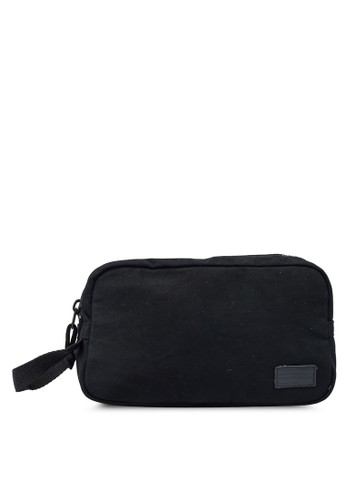 Superdry black Workwear Washbag - Original & Vintage C945AAC884DF2BGS_1