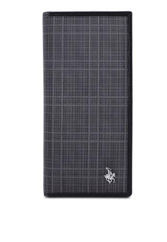 Swiss Polo grey RFID Blocking Long Wallet 4BF15AC1299E6BGS_1