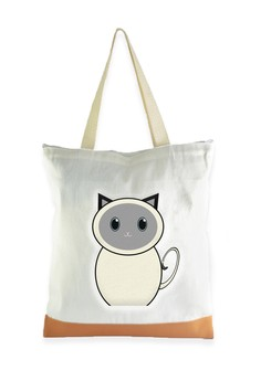 Tote Bag Siamese Cat