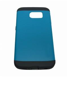 Sleek Shockproof Case for Samsung Galaxy S6 (Blue)