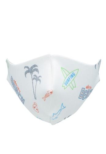 LC Waikiki white 8-14 Age Boy Washable Face Mask 9C095ES0935CE1GS_1