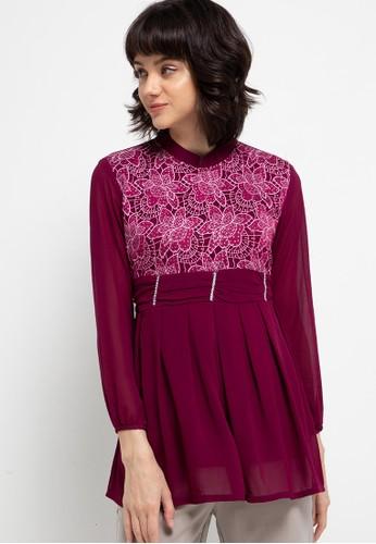 FAME purple Festive blouse 03D95AACD77FE2GS_1