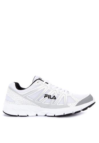 Fila white Establish Running Shoes C81FFSHFD18175GS_1