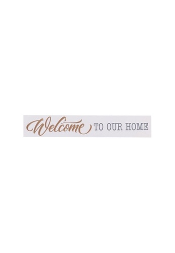 Klosh Wall Plaque - Welcome to our Home C96D7HL3210DFBGS_1