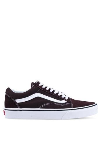 VANS brown Old Skool Sneakers 614E1SH3A6B867GS_1