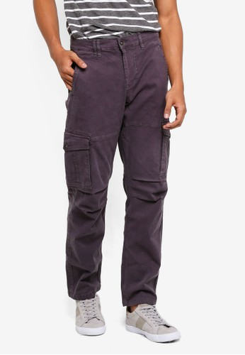 threads by the produce grey Stretch Cargo Pants A048EAA11C6984GS_1