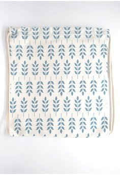 c05251e9a268 The Twinees Leaves of Spring Drawstring Bag S  20.00. Sizes One Size