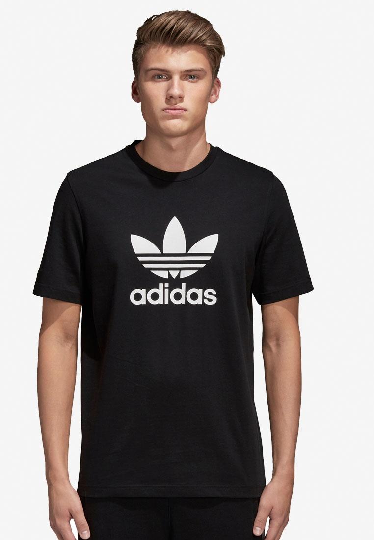 originals Black adidas t trefoil adidas shirt dqx6AdT