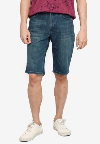 LC Waikiki green Regular Fit Denim Shorts 3491EAA76D3E99GS_1