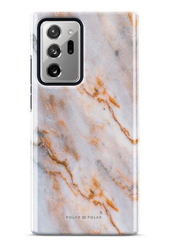 Polar Polar brown Coffee Cream Dual-Layer Tough Case Glossy For Samsung Galaxy Note20 Ultra 5G 60C9FAC52732F5GS_1