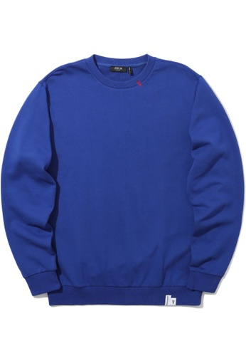 Fivecm navy Logo print sweatshirt 0F900AA0ED9D2FGS_1