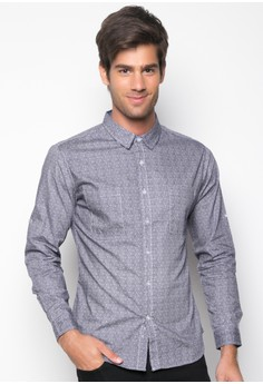 Patterned Long Sleeve Shirt