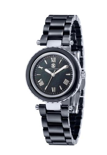 Klaus Kobec black Klaus Kobec Women's Ceramic Bracelet Watch - KK-10006-04 04EC1ACBFA888BGS_1