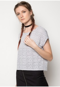 Continuous Shoulder Boxy Tee