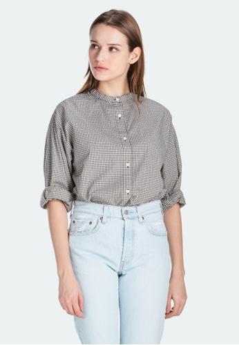 Levi's grey Levi's Gabriella Shirt 85434-0001 B740EAABF2989BGS_1