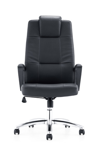 AMERCIS black Amercis Prudent A Leather Office Chair A5E0EHL99950B7GS_1