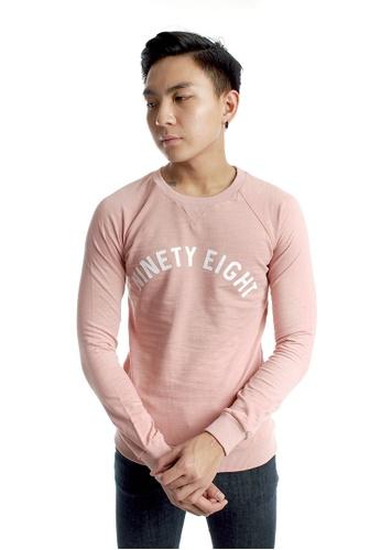 Praise pink Light Weight Pullover PR067AA80KJRSG_1