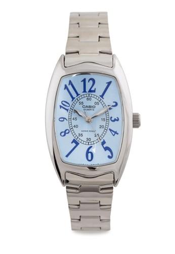 LTP-1208D-2BDF 不銹鋼數zalora 衣服評價字表, 錶類, 不銹鋼錶帶