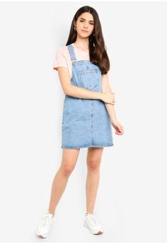e14b1a127497c 56% OFF Factorie Classic Denim Overall Dress S  49.95 NOW S  21.90 Sizes S  M L
