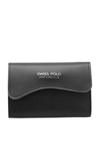 Swiss Polo black Casual Card Holder C0E59AC28146C7GS_1
