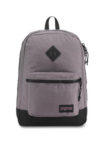 Jansport grey Super Fx Backpack FAFB8AC395D58BGS_1