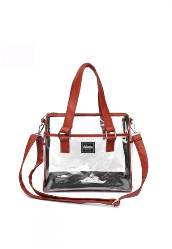 The Adventure orange PVC Transparent Doctor's Bag Cherry 00599ACF98DD8EGS_1