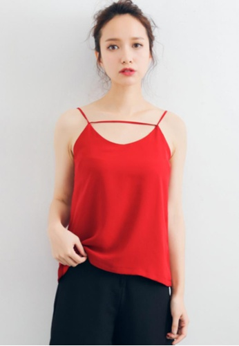 Shopsfashion red Fiona Cami in Red F302FAA92B54D6GS_1