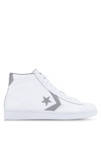 Converse blue Pro Leather 76 Mid Sneakers CO302SH0RDW8MY_1