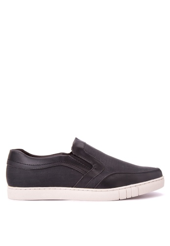 H2Ocean black Mens Sneakers Slip on H2527SH0J9TVPH_1