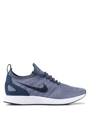 Nike white and blue Nike Air Zoom Mariah Flyknit Racer '18 Shoes D4981SH4D2D209GS_1