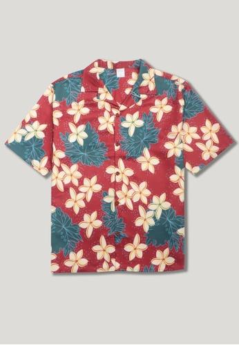 Twenty Eight Shoes Vintage Printed Aloha Shirt MD206047 4110BAAB411C41GS_1