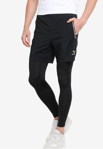 361° black Running Series Two-pcs Pants 1D0BEAA76C3E77GS_1