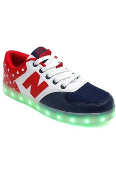 Greatnes SML-01 Unisex Casual Low-uppers LED Colorful Shoes