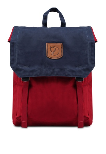 Fjallraven Kanken red and navy Foldsack No.1 Backpack B52FBAC9E7B13BGS_1
