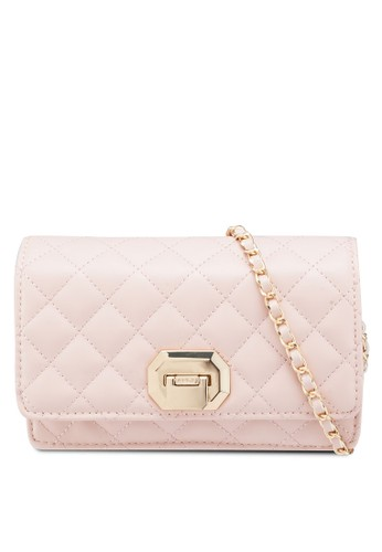 ALDO pink and multi Bressanvido Crossbody Bag 439F0ACA6ED8BAGS_1