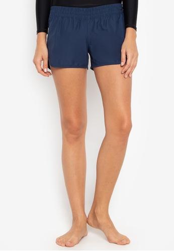 BENCH blue Solid Tone Beach Shorts 4EA01US1E15903GS_1
