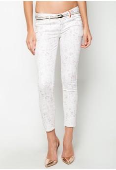 Ankzie Low Skinny Ankle Cut Deauville Mauve Pants