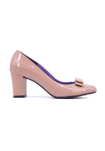 053e6e29fe82 Flatss   Heelss by Rad Russel beige Round Toe Block Heels- Beige  FL655SH0GHBVSG 1