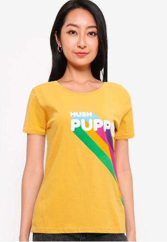Hush Puppies yellow Rainbow E2E97AA48BB743GS_1