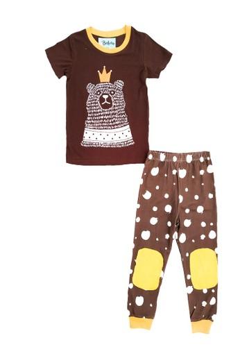 Boboo brown Piyama Anak Brown Bear SSLP18 A8435KA2807463GS_1
