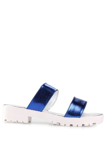 Mandy's blue Annabel Blue Sandals MA947SH50DYVID_1