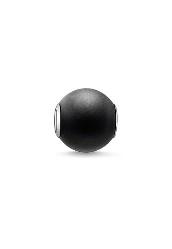 THOMAS SABO black Karma Bead Obsidian Matt 952F9ACDF2EA17GS_1