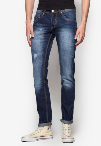 Regular Fit Coesprit causeway bayin Zip Jeans, 服飾, 牛仔褲