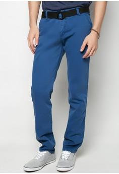 Col. Pants w/ Belt