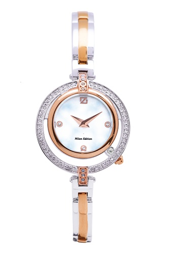 ZECA pink and silver and gold Milan Edition Female Analogue ZE260AC54SMBSG_1