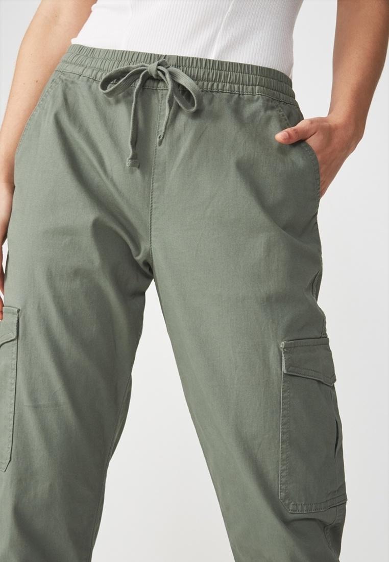 Cotton Rolled Green On Hem Chino qqWnB51C