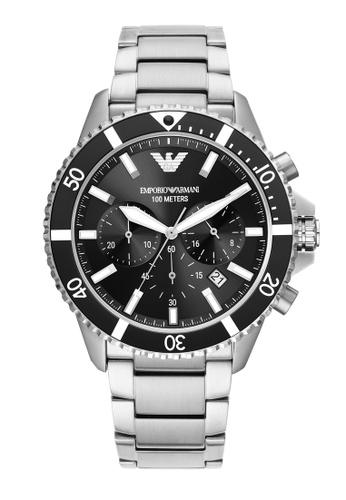 Emporio Armani silver Watch AR11360 63FE9AC26F0281GS_1